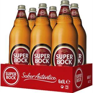 Caixa de Cerveja Super Bock 6x1Ln
