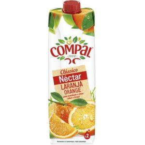 Sumo Compal Nectar Laranja 1L