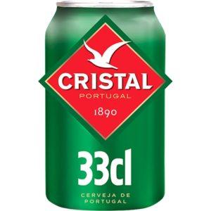 Cerveja Cristal Lata 33cl