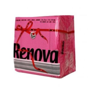 Guardanapo Red Label Renova Rosa