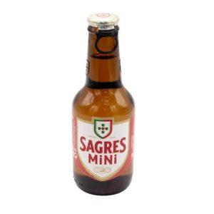 Cerveja Sagres grf Mini 250 ml