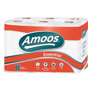 Papel Higienico Amoos Maxi Confort 12Rolos