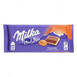 Chocolate  Milka Caramelo 100g