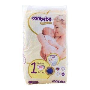Fralda Canbebe Newborn T1  2-5kg 44pc