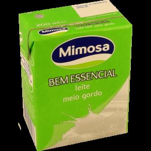 Leite Mimosa Meio Gordo 200ml