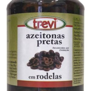 Azeitona Preta Rodelas Trevi 360g