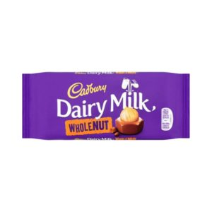 Chocolate Dairry Milk  WholeNut 120g