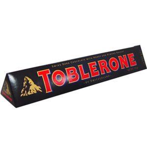 Chocolate Toblerone Swiss Dark & Almond 100g