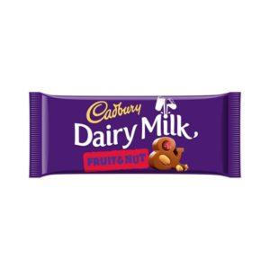 Chocolate Dairry Milk  Fruit e Nut 110g