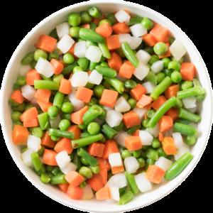 Jardineira Congelado (baja, cenoura, ervilha) 1kg