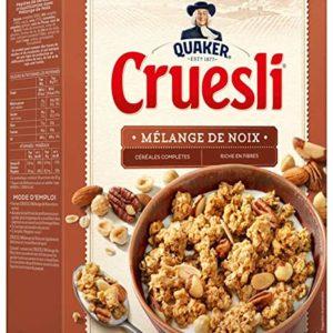Cereal  Cruesli Mégalange de Noix Quaker 450g