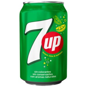 7Up Limão Lata 330 ml