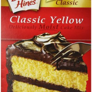 Bolo Cx Yellow Cake Mix 468g