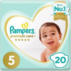 Fralda Pampers 11-16kg nº5 Junior(20un)