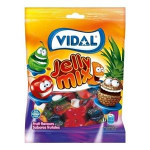 Gomas Jelly Mix Vidal 100g