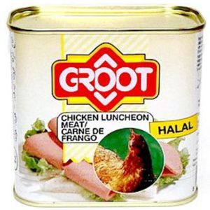 Fiambre Chicken Luncheon Meat Groot 340g