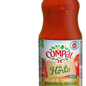 Polpa de Tomate Compal Manjericão Orégão Alecrim 500 g