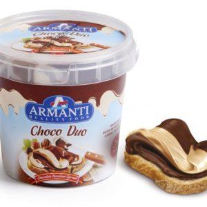 Chocolate para barrar Armanti Duo 400g
