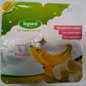 Iogurte Sólido Banana 4x125g