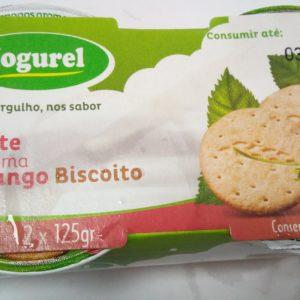 Iogurte Sólido Morango Biscoito 2x125g