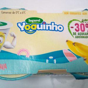 Iogurel Banana Yoguinho 2x125g
