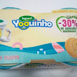 Iogurel Morango Biscoito Ioguinho