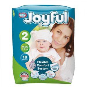 Fralda Joyful Midi T2 3-6kg 10pc