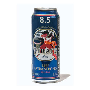 Cerveja Pirata Extra Forte 500 ml