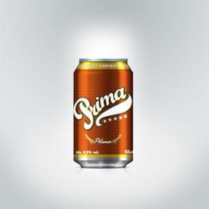 Cerveja Prima Lata 33cl