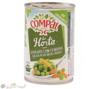Ervilha com Cenoura Compal  410g
