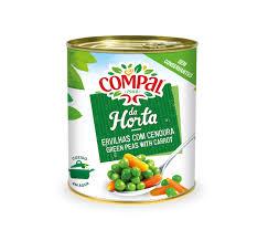 Ervilha Com Cenoura Compal 845 g