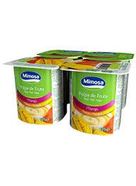 Iogurte Mimosa Polpa Manga 4*125g