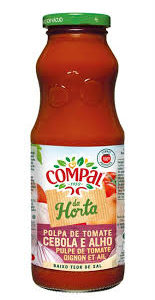 Polpa de Tomate Compal Com Cebola e Alho 500g