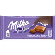 Chocolate Milka Crema de Cacau 100g