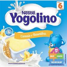 Iogurte Iogolino Nestle Cereais e Baunilha 4*100g
