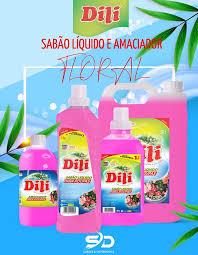 Amaciador de Roupa Dili Floral 1L