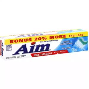 Pasta Dente Aim Cavity Protecion Gel Ultra Mint