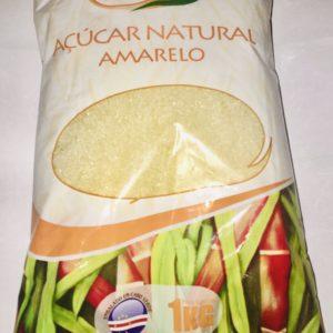 Açúcar moave Natural amarelo 1KG