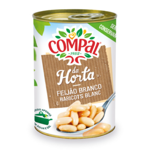 Feijão Compal Branco 410g
