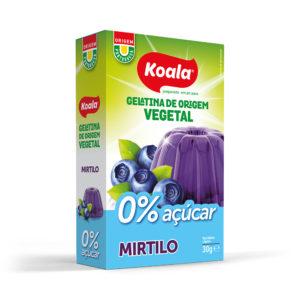 Gelatina Koala em Pó 0% Açúcar Mirtilo 30g