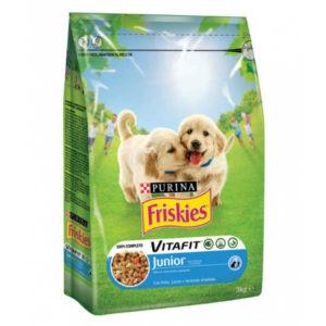 Friskies Junior Chicken & Milk & Veg. 18kg