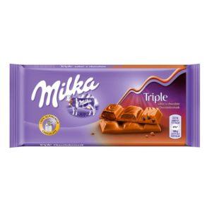 Chocolate Milka Triple Choco 100g