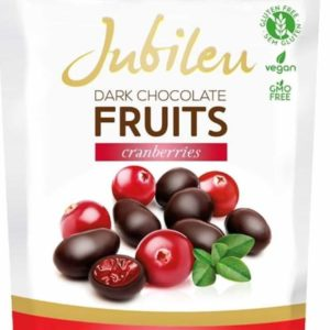 Jubileu dark chocolate Fruits Cranberries 150g