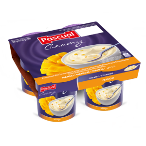 Iogurte Pascual Cremosa Manga 4*125 g