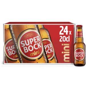Caixa Cerveja Super Bock Mini 24*20 cl