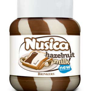 Nusica Hazelnut Duo Milk 750g