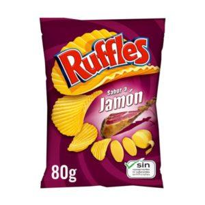 Ruffles Jamon 80g