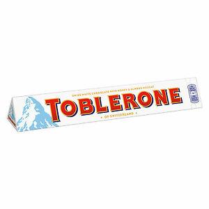 Chocolate  TOBLERONE Swiss White & Almond 100g