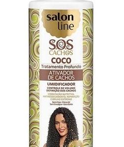 Salon Line Activador de Cachos óleo e M.Coco 300ml