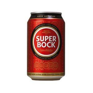 Cerveja Super Bock Lata 33 CL